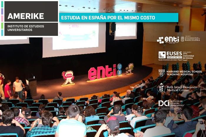 Con Amerike Estudiarás En España Por El Mismo Coste Que En México