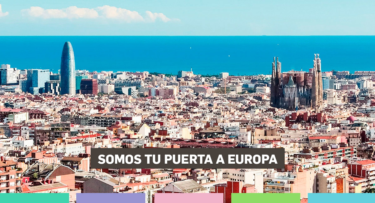 Somos Tu Puerta A Europa