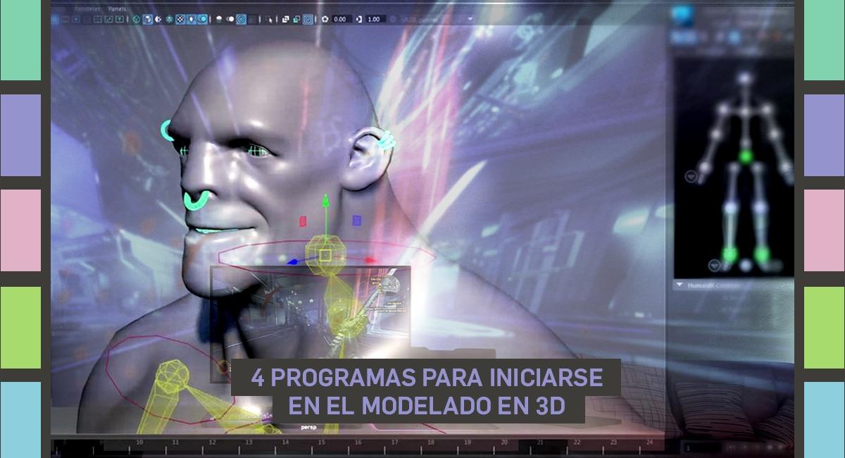 4 Programas Para Iniciarse En El Modelado En 3D