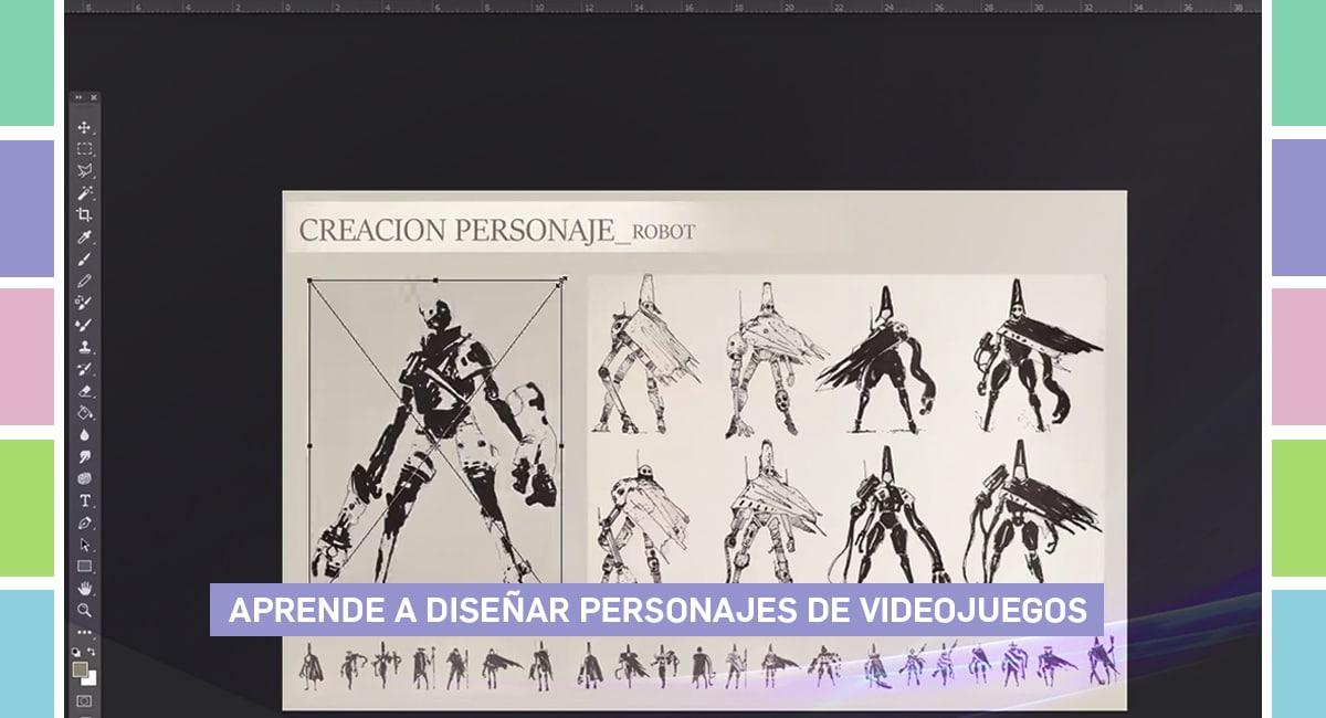 Aprende A Diseñar Personajes De Videojuegos
