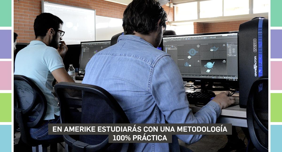 En Amerike Estudiarás Con Una Metodología 100% Práctica