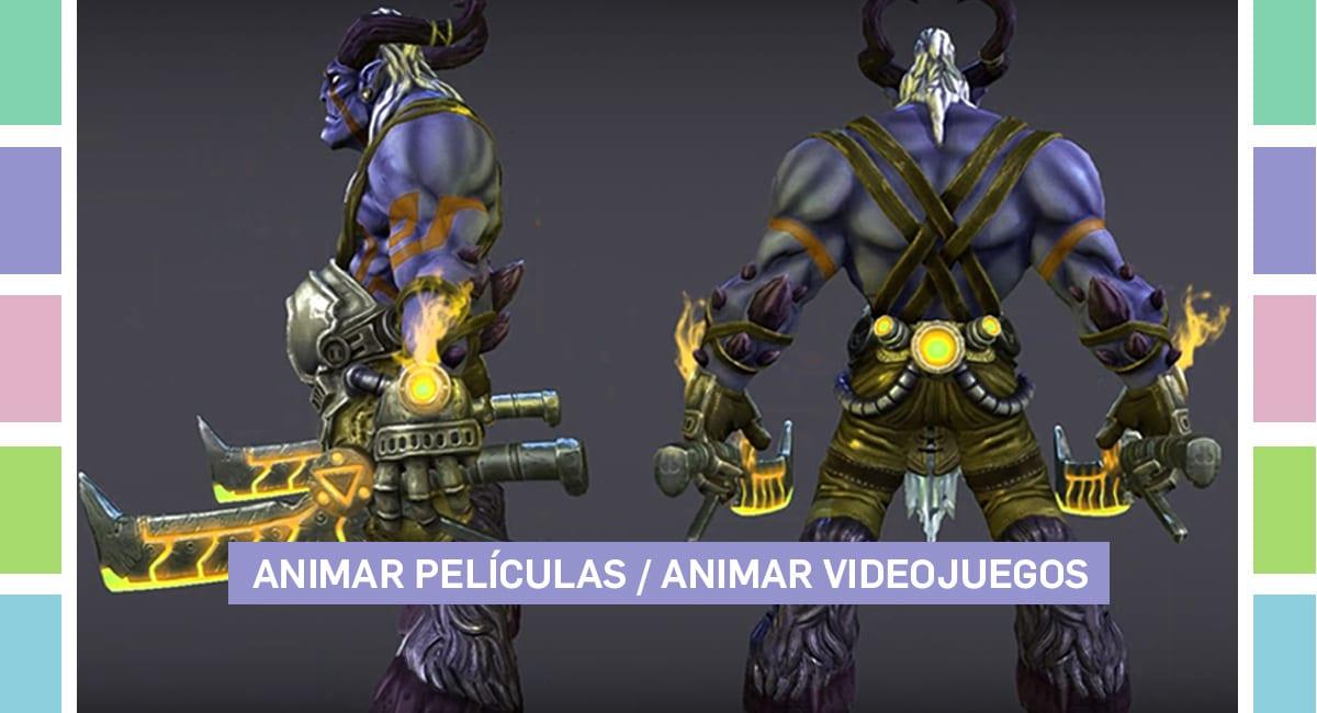 ¿Cuál Es La Diferencia Entre Animar Películas Y Animar Videojuegos?