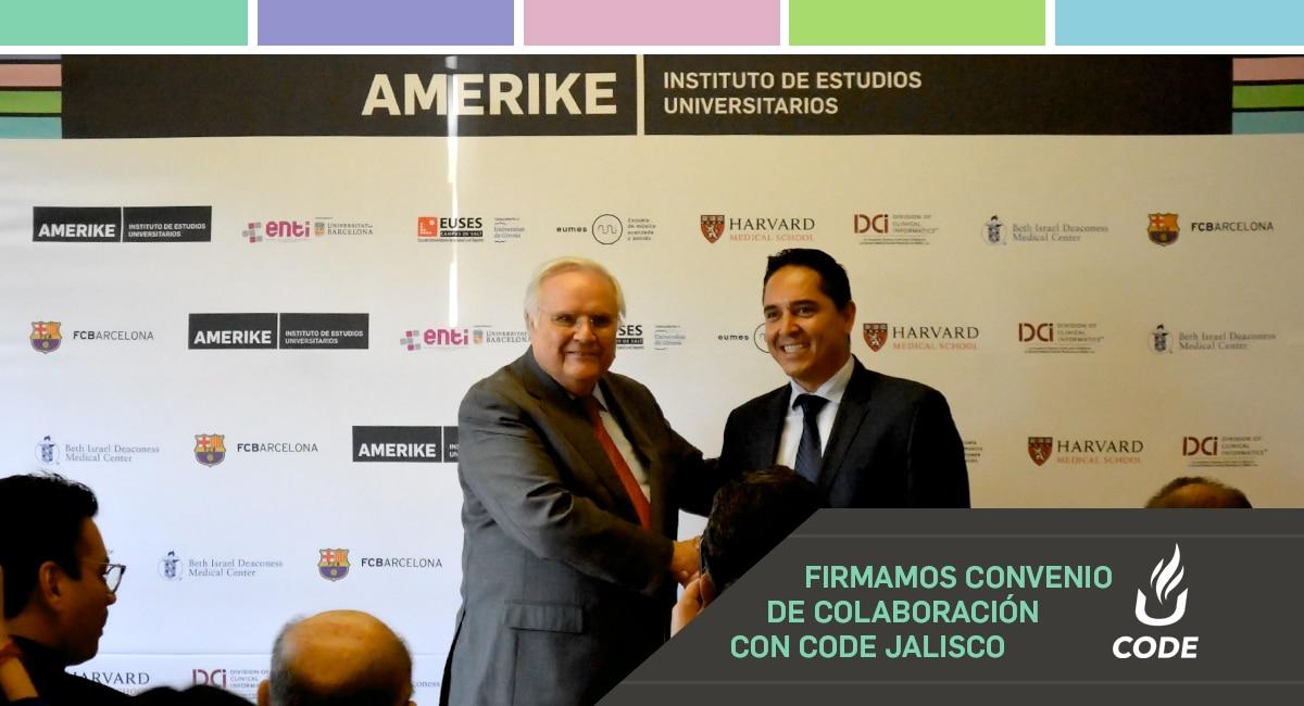Firmamos Convenio De Colaboración Con CODE Jalisco