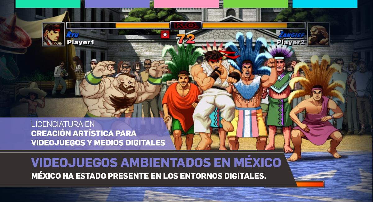 Videojuegos Ambientados En México
