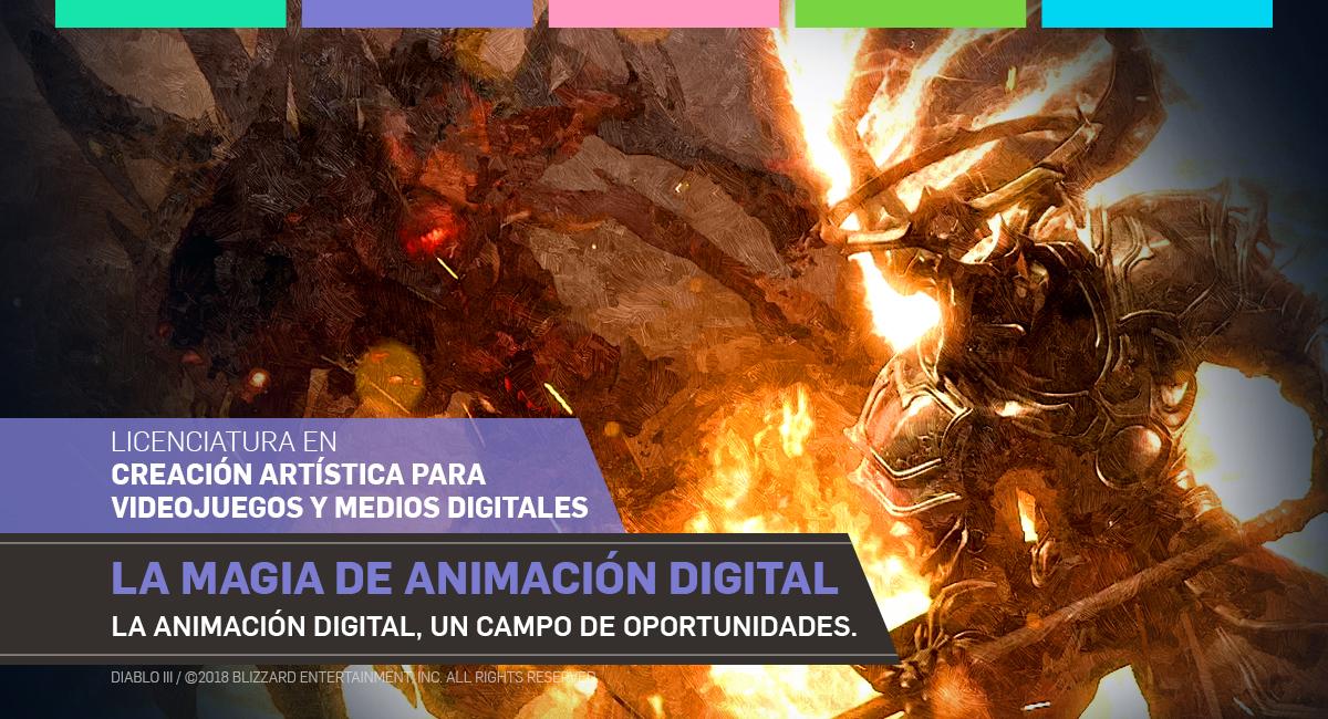 La Magia De La Animación Digital