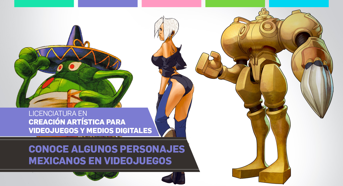 Conoce Algunos Personajes Mexicanos En Videojuegos