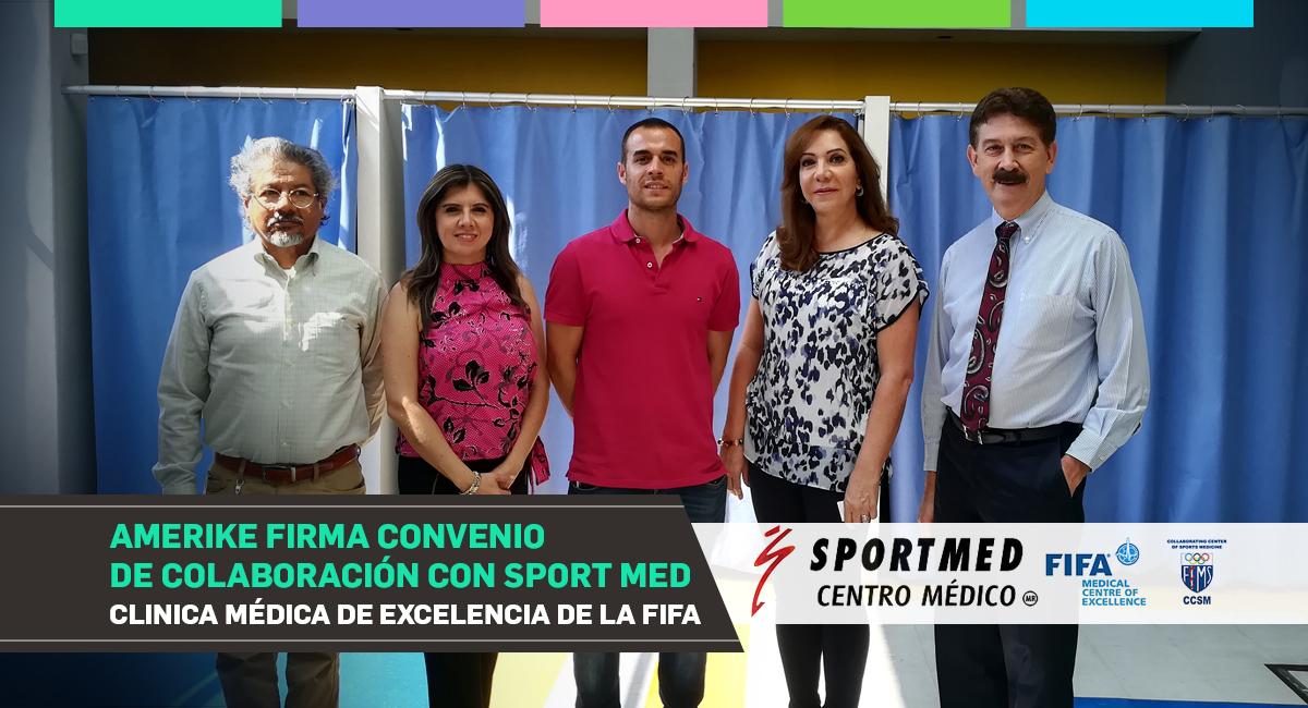 Firmamos Convenio De Colaboración Con Sport Med