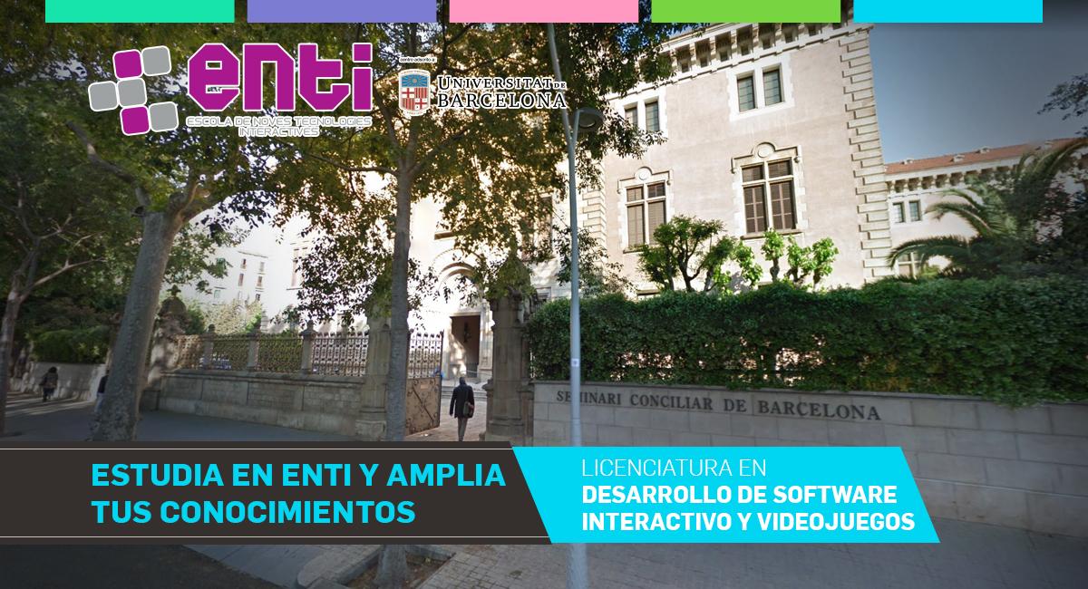 Estudia En ENTI UB Y Amplia Tus Conocimientos