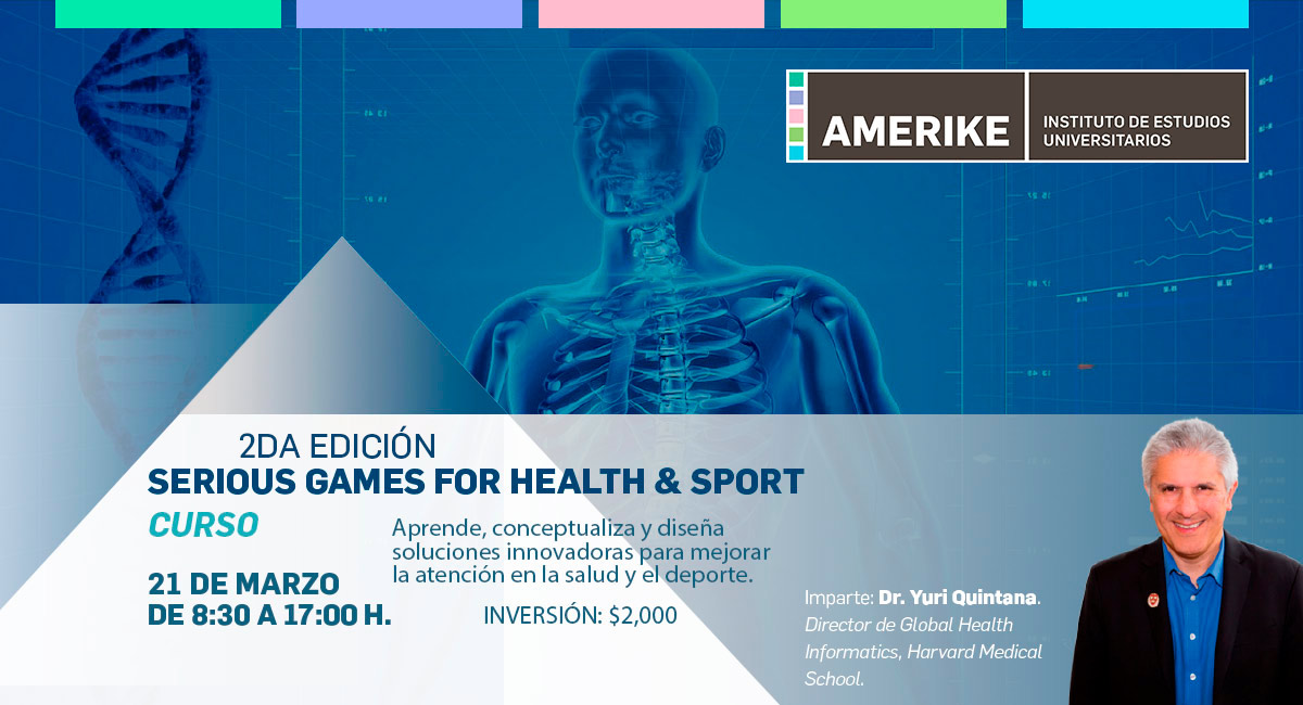 Curso: Serious Games For Health And Sport